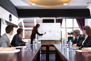 formation-d-affaires-au-bureau-Banque-d'images